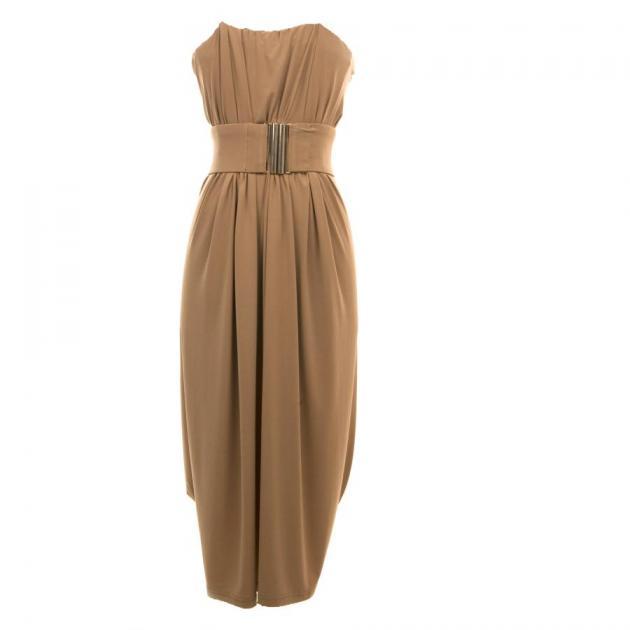 2 | Καφέ φόρεμα Underground