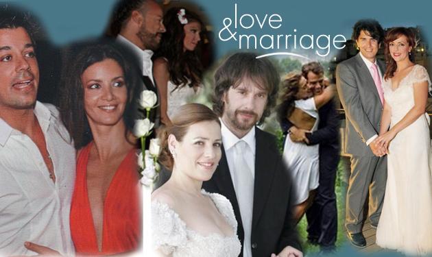 Τα ζευγάρια που παντρεύτηκαν μέσα στο 2013 | tlife.gr