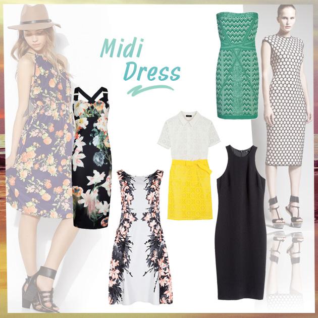 1 | Τα πιο hot midi dresses!
