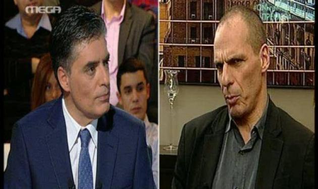 Γιάνης Βαρουφάκης: Ο Σόιμπλε, το δημοψήφισμα και όλα όσα είπε στην εκπομπή Online!   tlife.gr