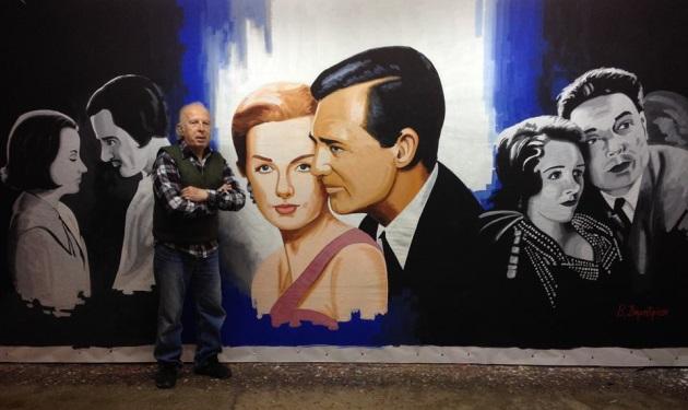 Διεθνής διάκριση για τον Έλληνα ζωγράφο Βασίλη Δημητρίου σε φεστιβάλ στο Hollywood! | tlife.gr