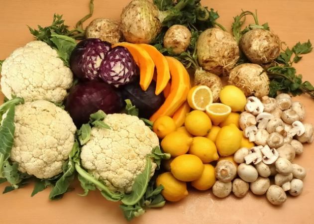 Δώσε χρώμα στα λαχανικά σου