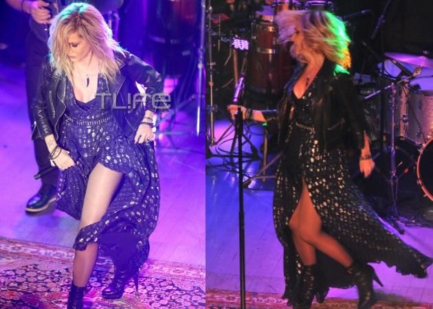 Άννα Βίσση: Χαμός με το σέξι φόρεμά της σε live για τους… ερωτευμένους! | tlife.gr