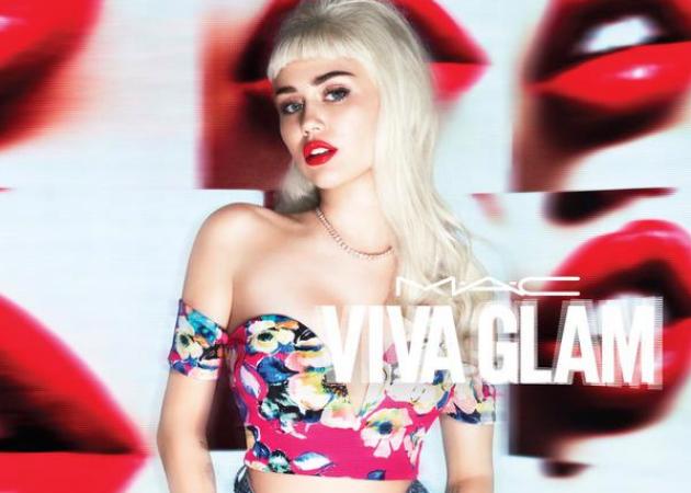 Η Miley Cyrus ξανά για το Viva Glam! | tlife.gr
