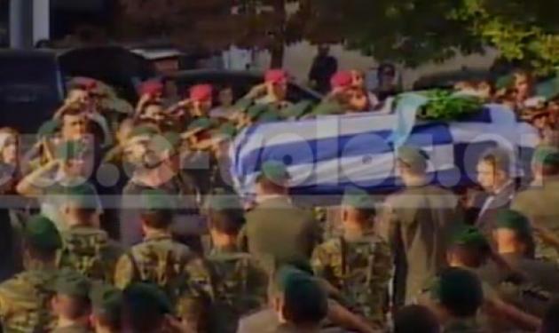 Θρήνος στη κηδείες των τριών στρατιωτών σε Βόλο και Πάτρα | tlife.gr