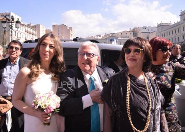 Παντρεύτηκαν ο Κώστας Βουτσάς και η Αλίκη Κατσαβού! Φωτογραφίες