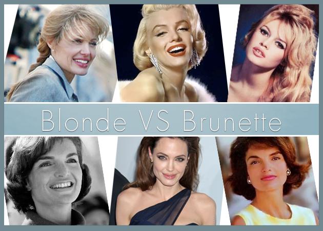 Νέα έρευνα: οι άντρες προτιμούν τις καστανές! Plus: διάσημες σε ξανθιά και καστανή εκδοχή!