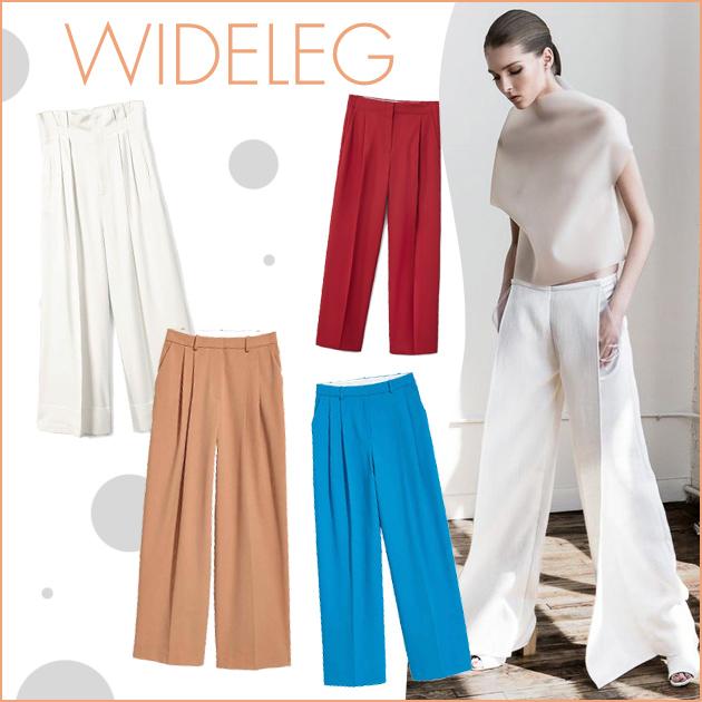 1 | Wide leg παντελόνια