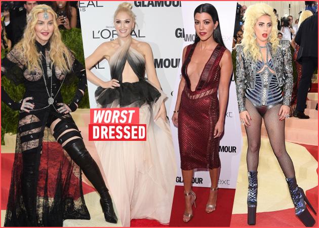Ooops! Οι πιο κακοντυμένες celebrities του 2016