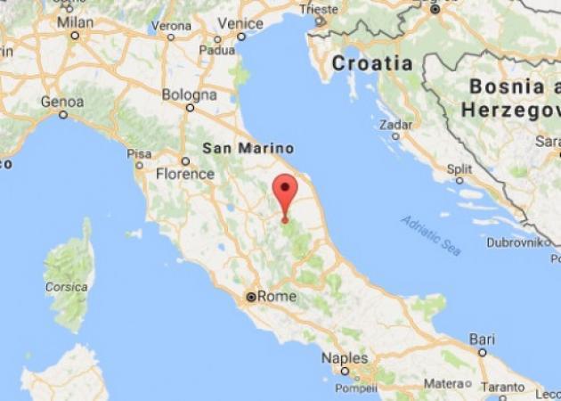 Σεισμός στην κεντρική Ιταλία! | tlife.gr