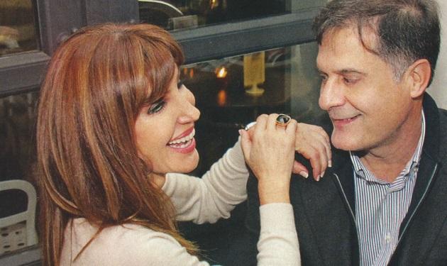 Βίκυ Χατζηβασιλείου: Σπάνια έξοδος με τον σύζυγό της! | tlife.gr