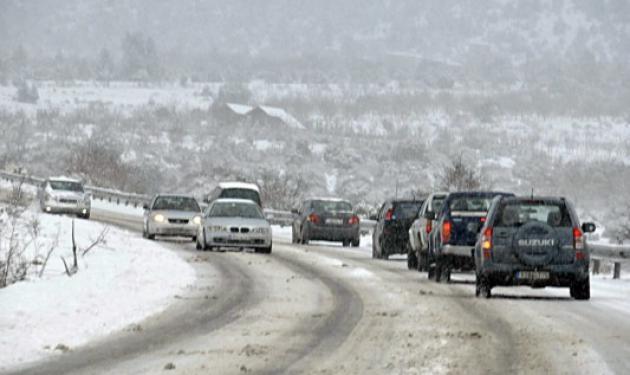 Έρχεται χιονιάς! Το απόγευμα της Δευτέρας φθάνει η κακοκαρία στην Αττική