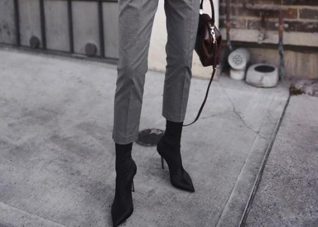 Το σωστό παντελόνι για τα sock booties | tlife.gr