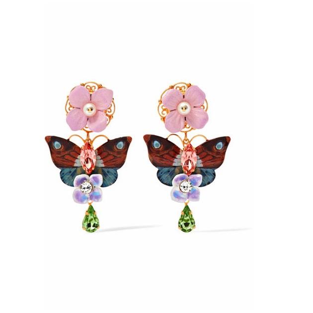 4   Σκουλαρίκια Dolce & Cabbana