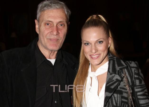 Σάρα Εσκενάζυ: Θεατρική βραδιά με τον πατέρα της Αλμπέρτο Εσκενάζυ!