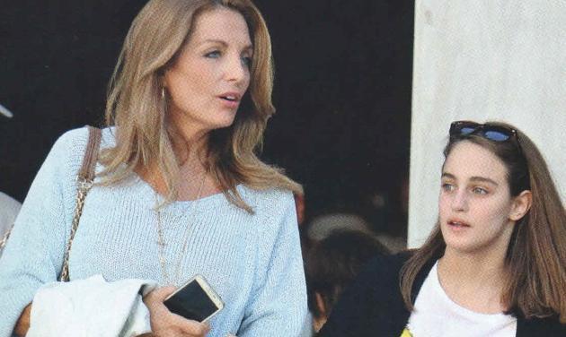 Άντζελα Γκερέκου: Αχώριστη με την κόρη της Μαρία που της μοιάζει όλο και περισσότερο!