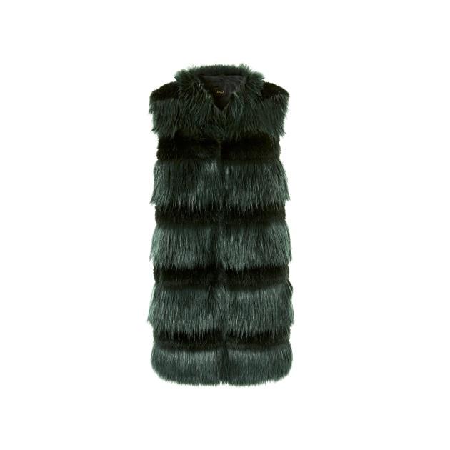 2 | Fur γιλέκο Liu Jo