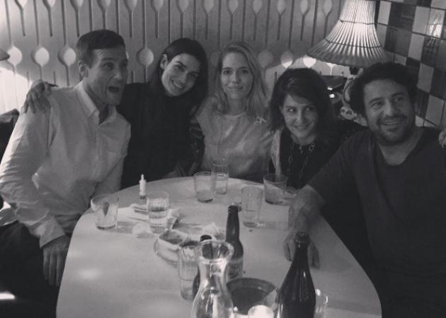 Τόνια Σωτηροπούλου: Περνάει μοναδικά με την Nia Vardalos και τον Αλέξη Γεωργούλη στην Νέα Υόρκη! [pics,vid]   tlife.gr