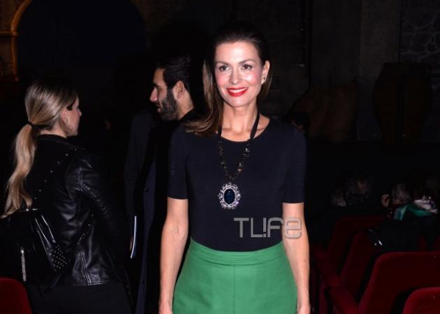 Τζίνα Αλιμόνου: Βράδυ Σαββάτου σε θεατρική πρεμιέρα! [pics] | tlife.gr