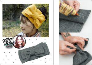 Η Πόπη Αναστούλη σου δείχνει πως να φτιάξεις μια χειμερινή headband