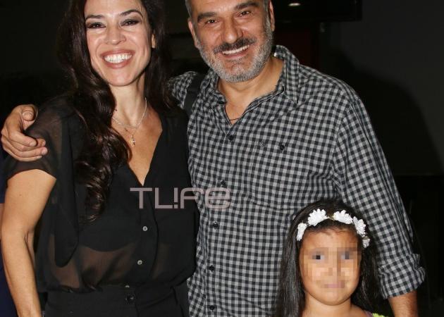 Κώστας Αποστολάκης: Σπάνια εμφάνιση με την κόρη του στο θέατρο! | tlife.gr
