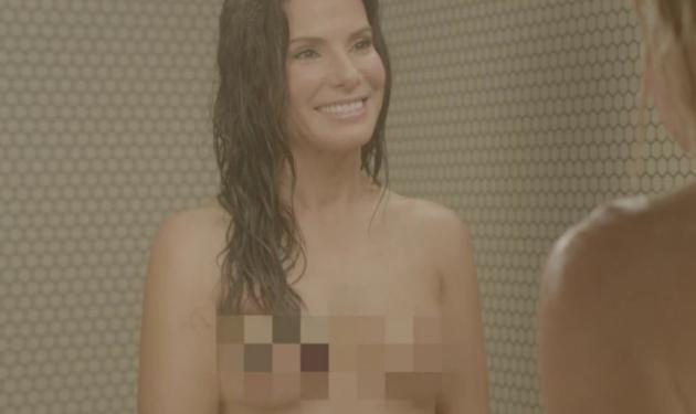 Η Sandra Bullock γυμνή στο ντουζ με την Chelsea Handler! Φωτογραφίες | tlife.gr