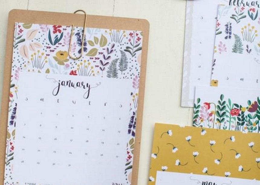 Happy 2018: Αυτά είναι τα πιο stylish ημερολόγια για να ανανεώσεις τη διακόσμησή σου! | tlife.gr