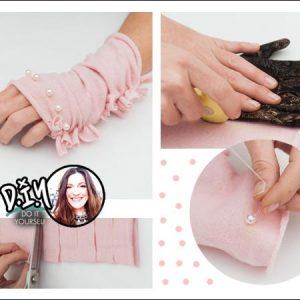 Η Πόπη Αναστούλη σου δείχνει πως να φτιάξεις γάντια με πέρλες!