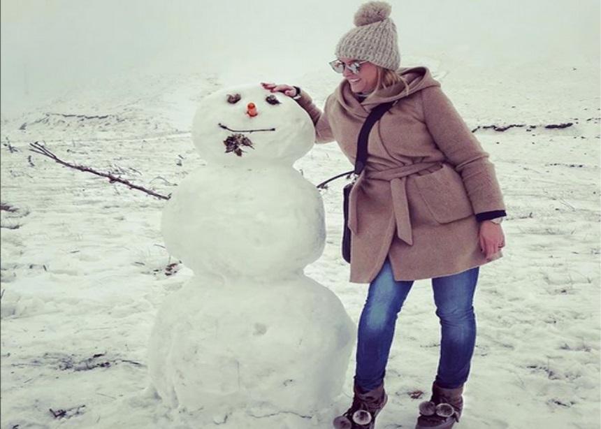 Έλενα Ασημακοπούλου: Όμορφες στιγμές με τον σύζυγό της στα χιόνια! | tlife.gr
