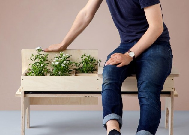 Open Garden series: Και έπιπλο και κασπό για τα φυτά σου! | tlife.gr