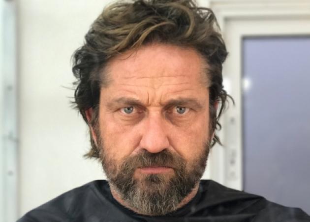 O Gerard Butler σχεδόν έκλαψε όταν ξύρισε τα γένια του! Βίντεο! | tlife.gr