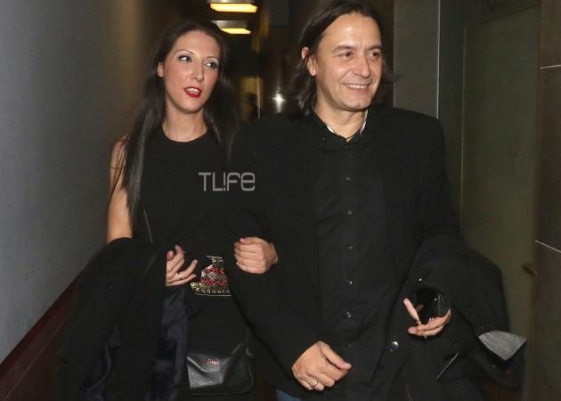 Γιάννης Κότσιρας: Σπάνια εμφάνιση με τη σύζυγό του, Κατερίνα Πέρρου [pics]