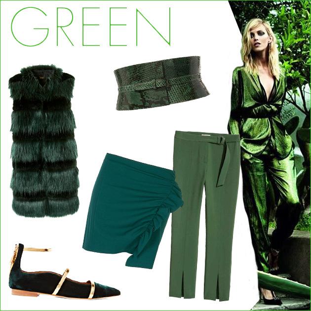 1 | Πράσινα ρούχα και αξεσουάρ!
