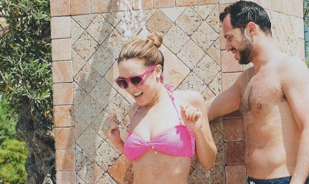 Καλομοίρα: Βουτιές και αγκαλιές με τον Γιώργο στην πισίνα! | tlife.gr