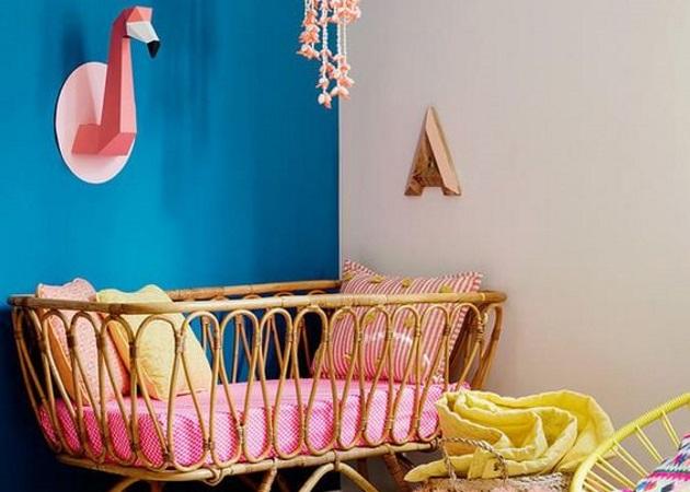 Ετοιμάζοντας το δωμάτιο του μωρού: Βάλε το rattan στη ζωή σου!