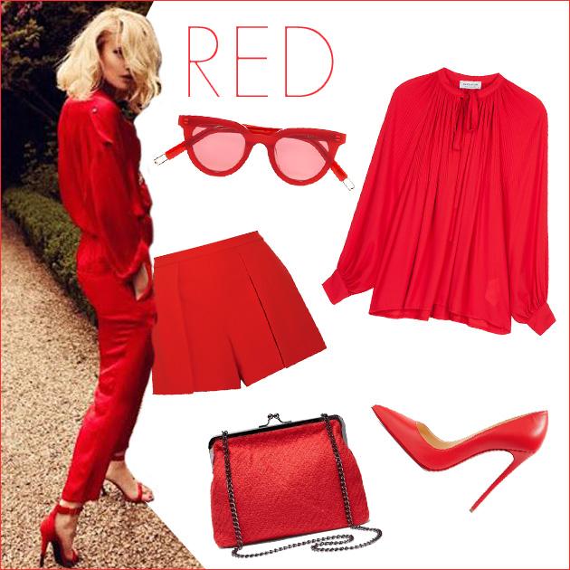 1 | Κόκκινα ρούχα και αξεσουάρ!
