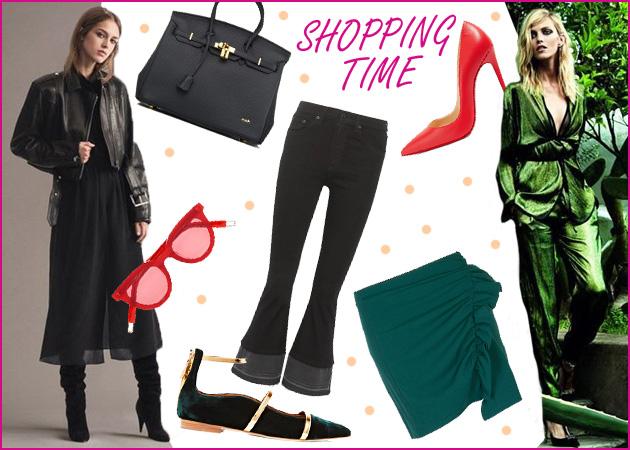 Πράσινο, κόκκινο, μαύρο: Στιλάτα ρούχα και αξεσουάρ στα must χρώματα της σεζόν | tlife.gr