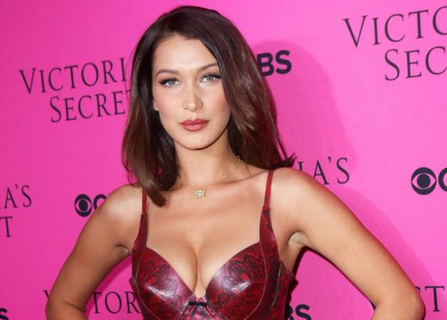 Η Bella Hadid με choppy bangs!