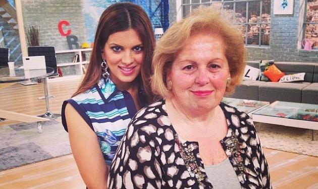 H Σταματίνα Τσιμτσιλή έκανε πρεμιέρα έχοντας στο πλατό τη μαμά της! | tlife.gr