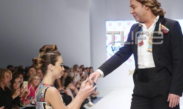 Ο Τρύφωνας Σαμαράς κάνει πασαρέλα ντυμένος γαμπρός και… αποθεώνεται! Βίντεο | tlife.gr