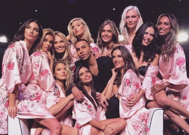 Η αστυνομία σταμάτησε το πάρτι της Victoria's Secret!