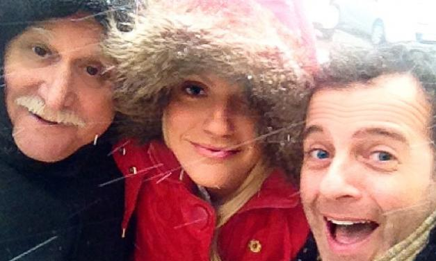Όταν οι celebrities ενθουσιάζονται με το χιόνι! Φωτογραφίες και βίντεο!