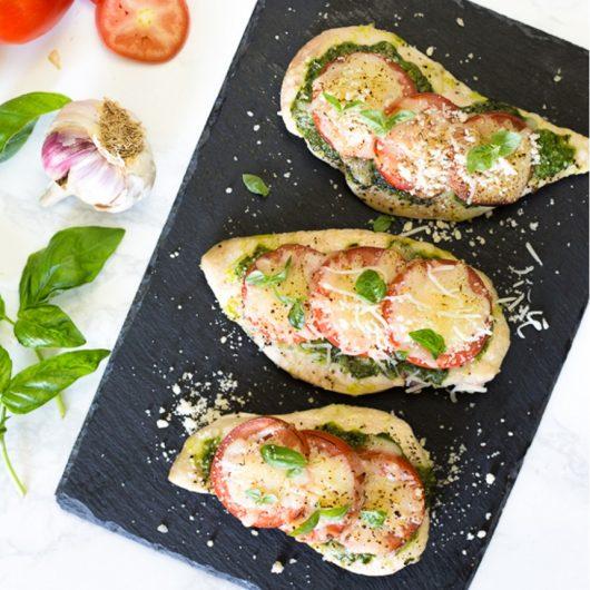 Γαλοπούλα με πέστο και ντομάτα | tlife.gr
