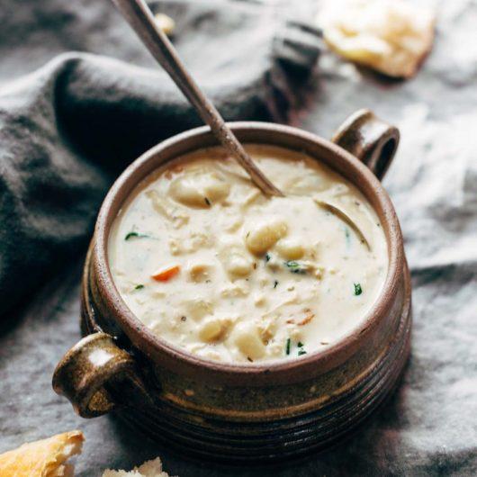 Σούπα με νιόκι και κοτόπουλο | tlife.gr
