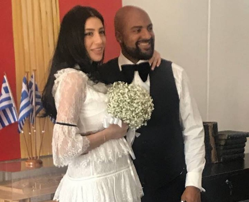 O Ησαΐας Ματιάμπα παντρεύτηκε την αγαπημένη του! Τους πάντρεψε ο Ηλίας Ψινάκης! [pics,vid] | tlife.gr