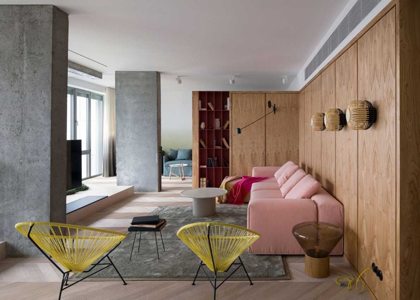 AFM Interior: Αυτό το εκπληκτικό διαμέρισμα στο Κίεβο είναι το όνειρο… όλων μας! | tlife.gr