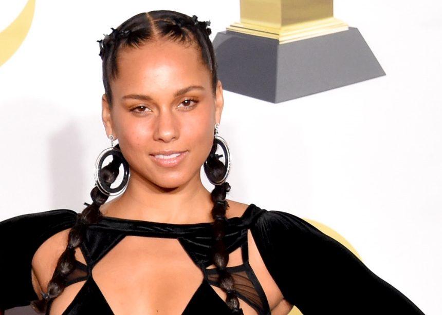 She is back! Η Alicia Keys και πάλι αμακιγιάριστη στο κόκκινο χαλί!   tlife.gr
