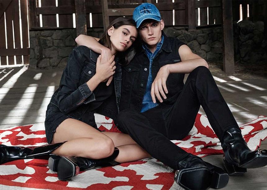 Η Kaia Gerber ποζάρει με τον αδερφό της για τον Calvin Klein | tlife.gr