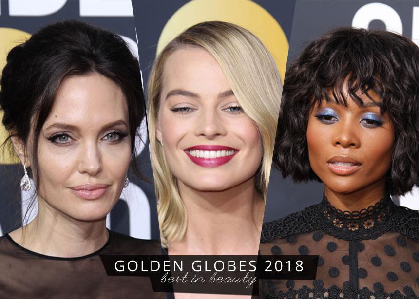 Χρυσές Σφαίρες 2018: τα ωραιότερα beauty looks που θέλουμε να αντιγράψουμε asap!