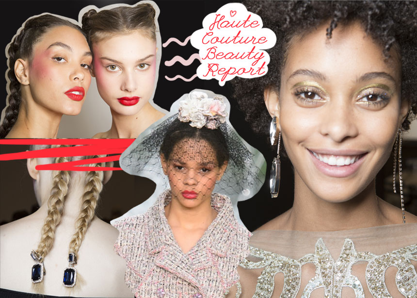 Οι πιο δυνατές beauty στιγμές από τα couture shows στο Παρίσι! Τα looks που μπορείς να αντιγράψεις!